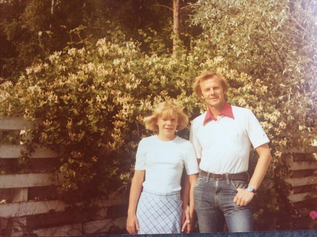 Magdalena, pappa Göran, kärleken och tårarna