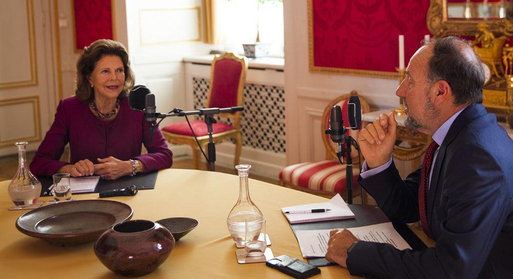Henrik Frenkel intervjuar Drottning Silvia